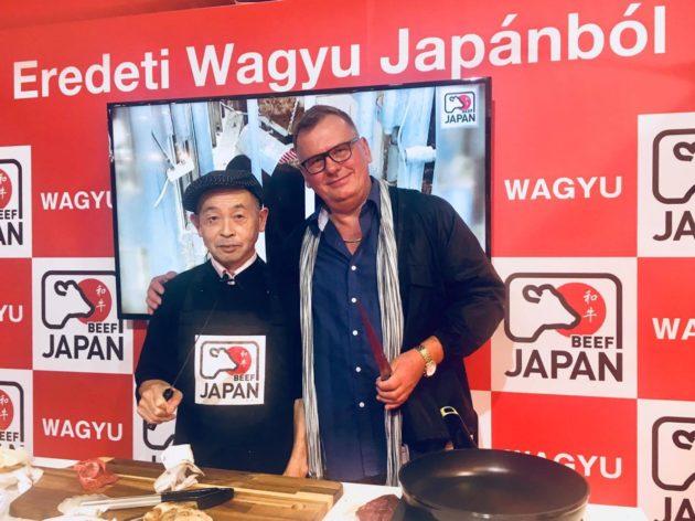 Eguchi cheffel az OMÉK-en, 2017