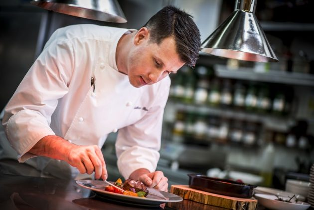 Matthew Piercy chef (The Ritz Carlton, Budapest)