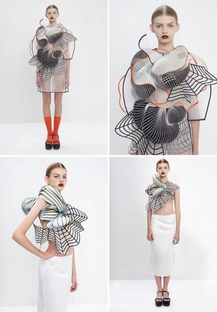 Pár éve jelentek meg az első 3D-s ruhák a kifutókon