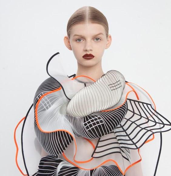 futurisztikus divat 3D