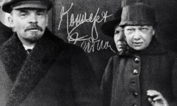 Lenin és Krupszkaja