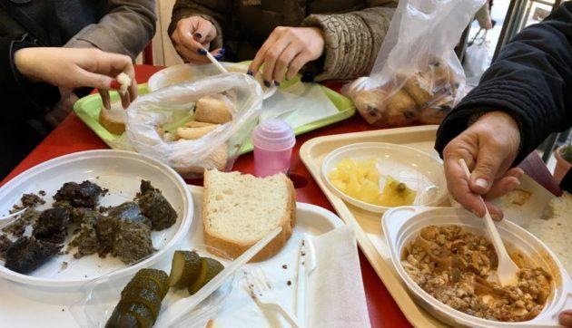 Velő, hagymás vér, hurka - reggelire a Nagypiacon (Rózsa Falatozó, Debrecen)