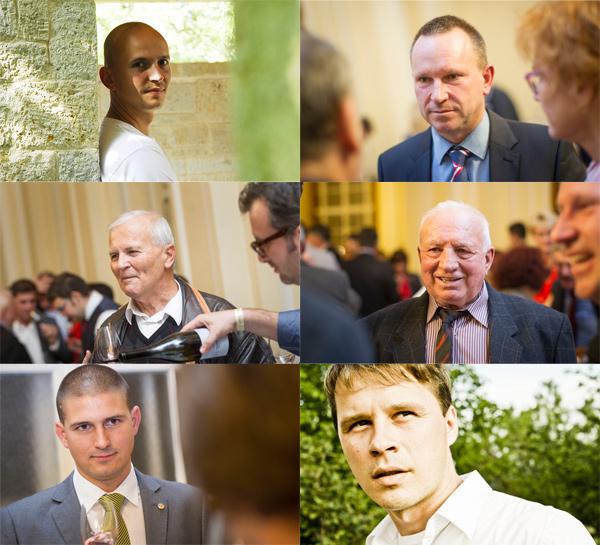A képen: ifj. Szepsy István, Koch Csaba, Jásdi István, Szőke Mátyás, Borbély Tamás, Figula Mihály