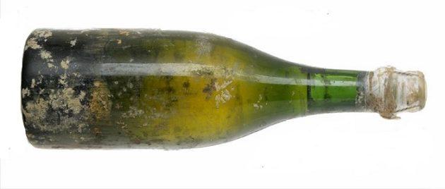 A világ legrégebbi, 1800 és 1830 között palackozott, még fogyasztható pezsgője (Juglar Champagne)