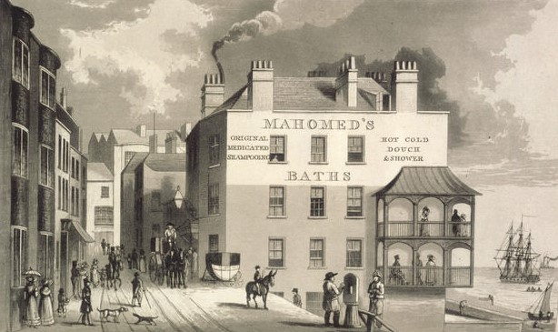 Az első londoni indiai étterem, a Hindoostanee Coffee House 1810-ben nyilt meg.