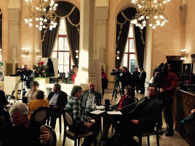 Határon Túli Magyar Borászok a Pesti Vigadóban - mesterkurzus