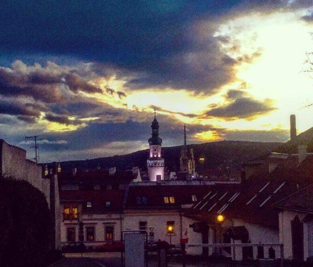 Sopron este - a Hotel Sopronból a Poncichter ház felé sétálva)
