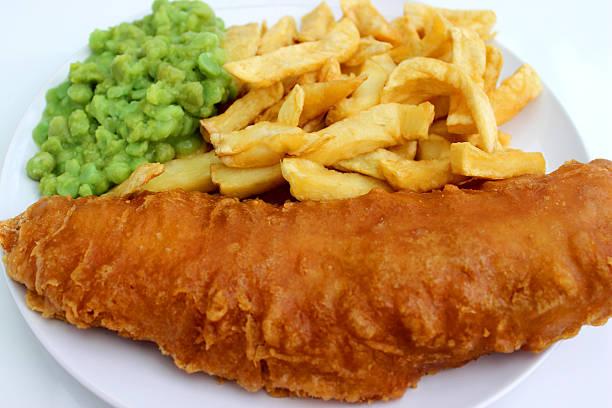 Fish&Chips borsópürével