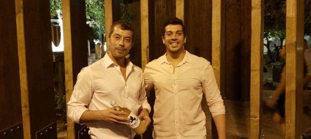 Hilal és Yanai Tubi (Haifa, izrael) a Tubi 60 start-up alapítói (2017)