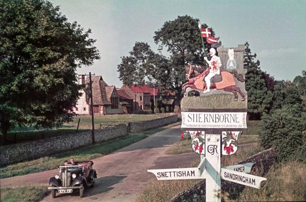 Anglia, Shernborne, 1939. augusztusában