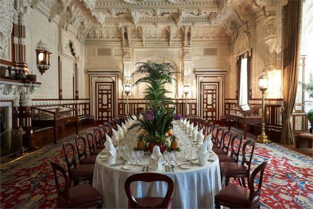 """A """"szolid"""" és """"visszafogott"""" Osborne House a Wight szigeten, ahol az ötórai teák népszerű pikótáját Viktória királynőről nevezték el."""