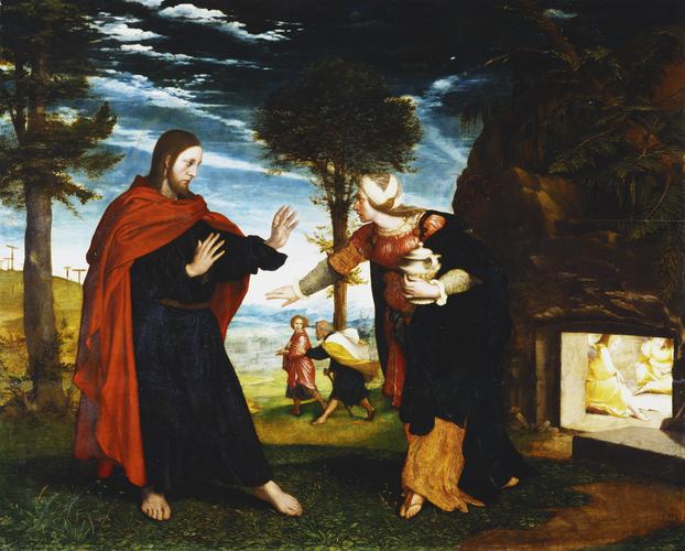 Holbein - Noli me tangere!