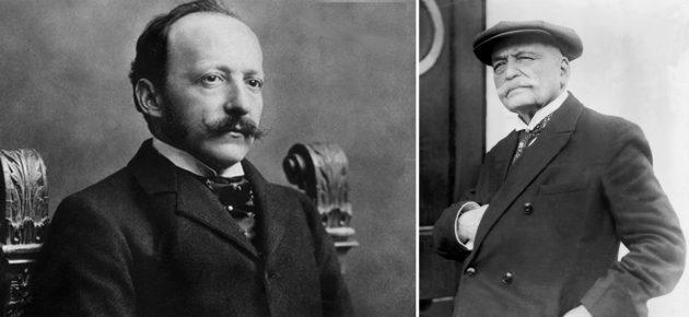 César Ritz és Auguste Escoffier