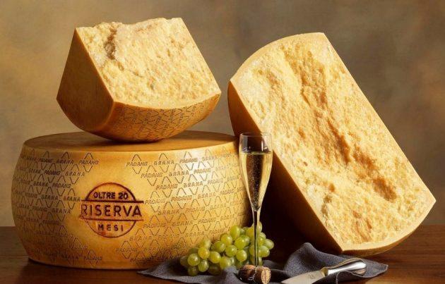 parmezán sajt
