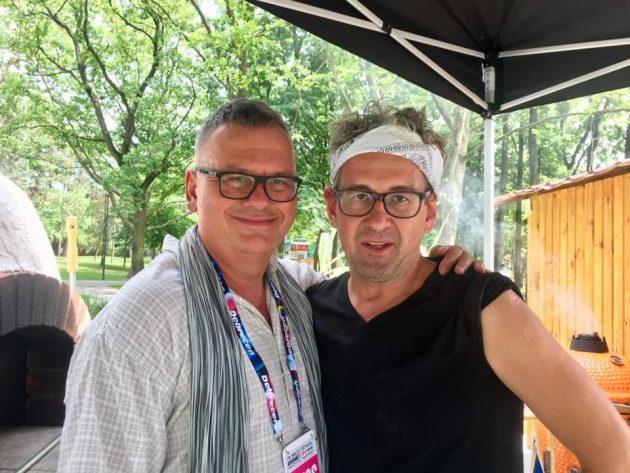 Debrecziner Gourmet Fesztivál 2018 - Csíki Sándor (Food&Wine) és Dudás Szabolcs (Anyukám mondta..., Encs)