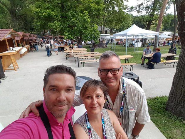 Debrecziner Gourmet Fesztivál 2018 - Vállai Béla sommelier (Mirage, Hajdúszoboszló), Szabó Edit (Borsmenta és Csíki Sándor (Food&Wine)