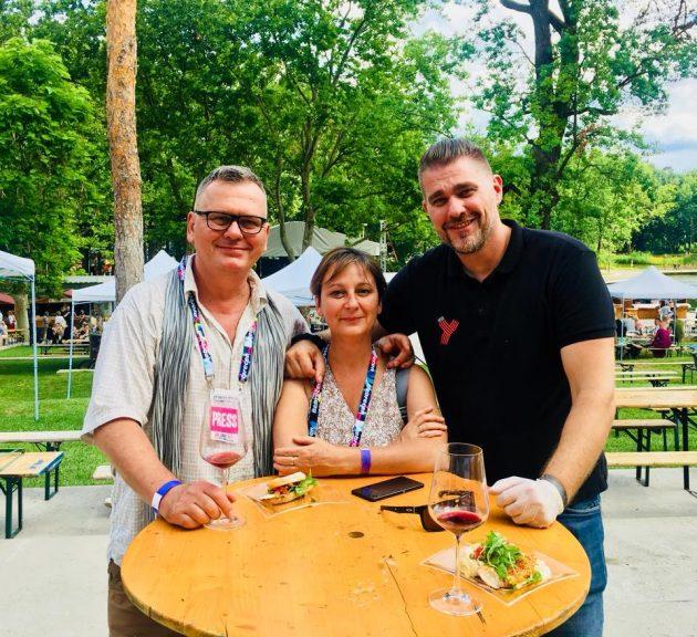 Debrecziner Gourmet Fesztivál 2018 - Csíki Sándor (Food&Wine), Szabó Edit (Borsmenta) és Pauli Zoltán (Palkonyha, Palkonya)