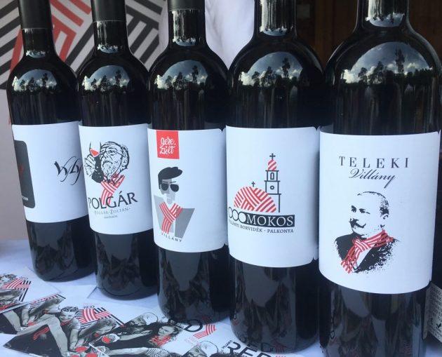 Debrecziner Gourmet Fesztivál 2018 - Villáűny új vörösboros brand-je a Ready is kóstolható volt a Palkonyhánál