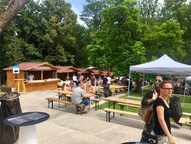 Debrecziner Gourmet Fesztivál 2018 - Magyarország egyik legszebb fesztiválhelyszínén, a Nagyerdőben, a Békás-tó partján