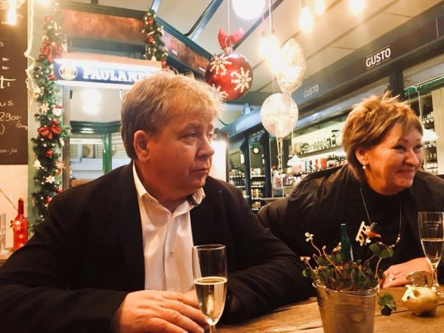 Radvánszky Attila és felesége Tarcsi Éva (Király 100 Étterem és Haxen Market)