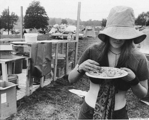 Woodstocki Fesztivál, 1969. (AP Photo)