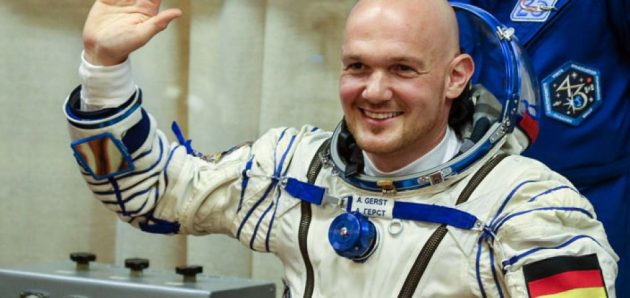 Alexander Gerst - német űrhajós