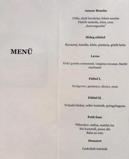 Darusa Richárd séf bemutatkozó menüje a Manna Lounge & Étteremben