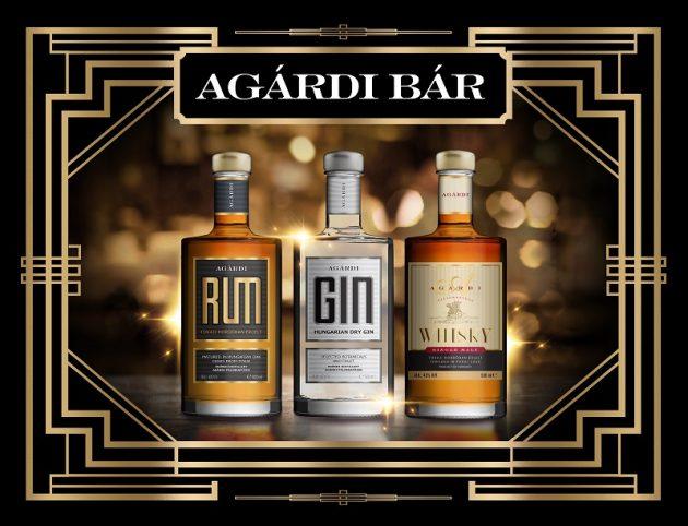 Az Agárdi Pálinkafőzde új italai - gin, whisky, rum (2018)