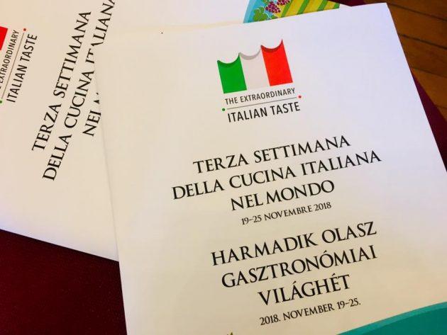Harmadik Olasz Gasztronómiai Világhét