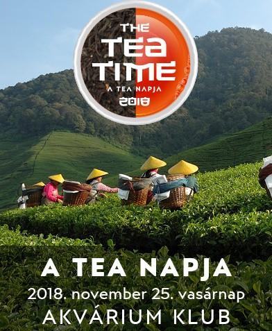 A tea napja 2018