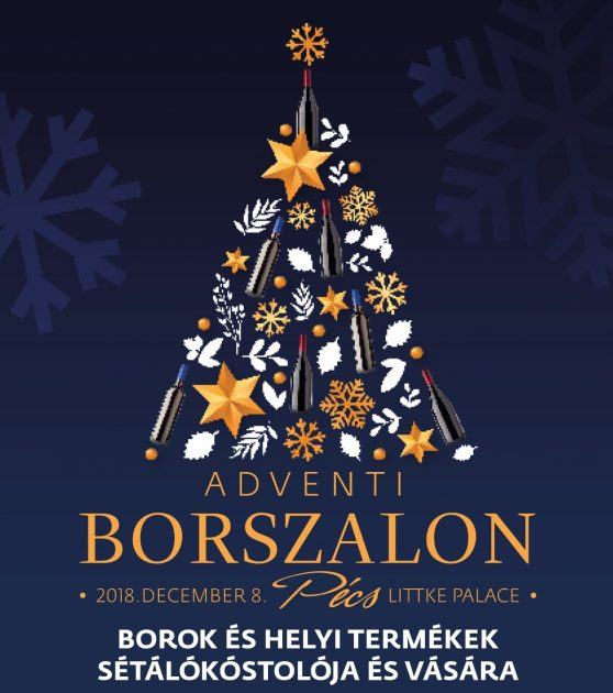 Adventi Borszalon, Pécs