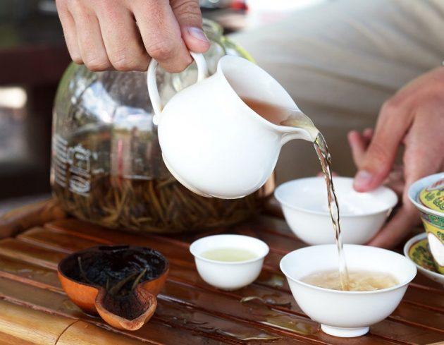 Hagyományos kínai teaceremónia
