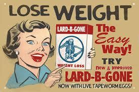 Bélgiliszta diéta reklámja