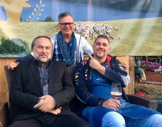 Nyíri Szása (Aranykaviár), Pauli Zoltán (Palkonyha) és Csíki Sándor (Food&Wine)