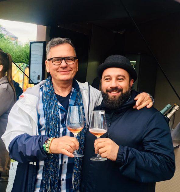 Csíki Sándor (Food&Wine) és Halász Norbert (Zip's Brewery, Miskolc)