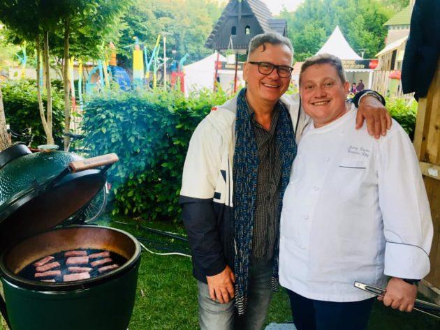 Csíki Sándor (Food&Wine) és Jeremy Cayron (Sofitel, Cairo)