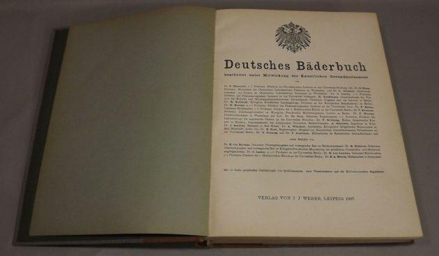 Deutsches Bäderbuch (1907)