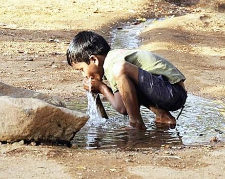 Ivóvíz, India
