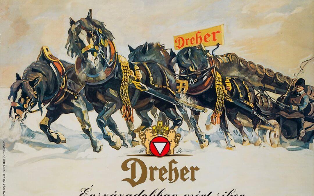 DREHER SÖRGYÁRAK- újraálmodott art deco plakátok