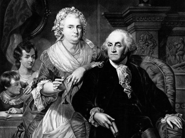 George és Martha Washington