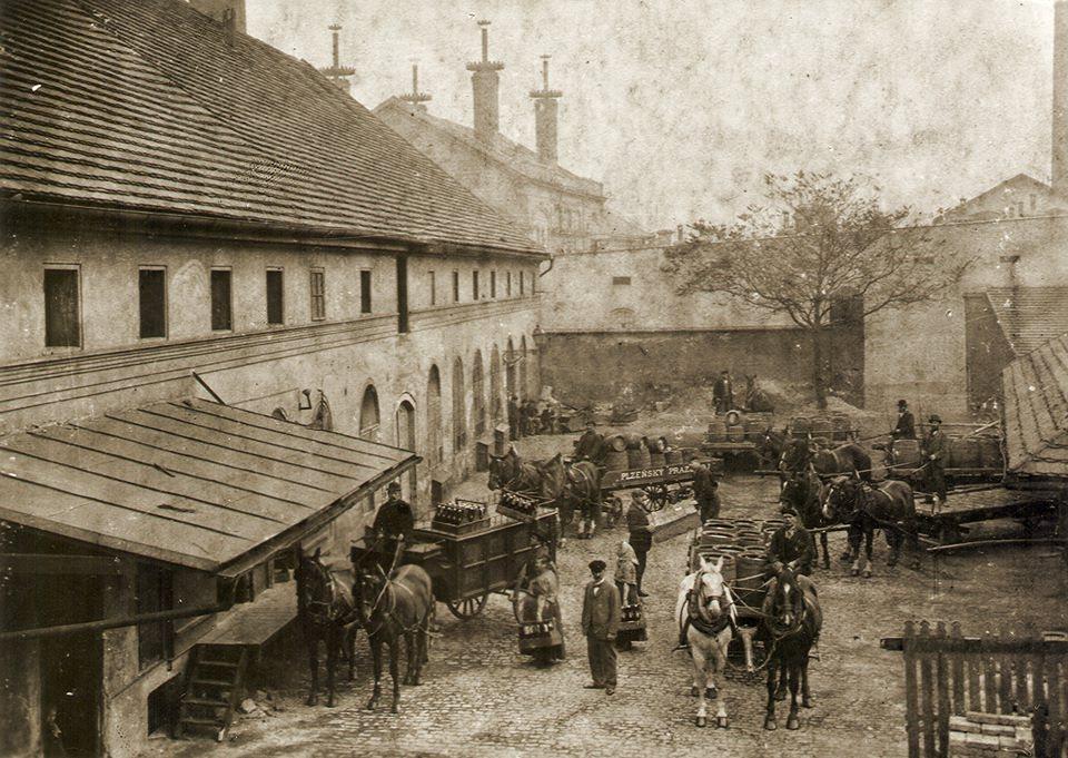 Cseh sör. Plzen, 1902