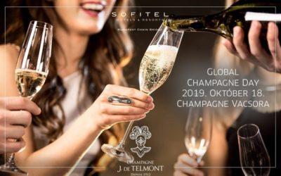 CHAMPAGNE DAY – 2019. október 18. – Sofitel, InterContinental, Marriott