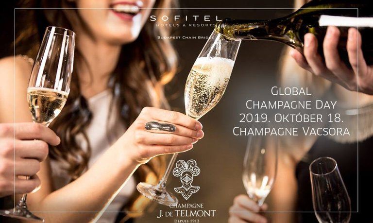 CHAMPAGNE DAY – 2019. október 18. – Sofitel, InterContinental, Marriott