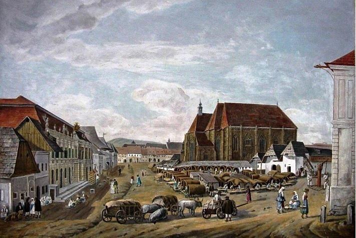 Kolozsvár fótere 1840-ben