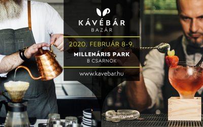 KávéBár Bazár 2020 – Millenáris Park, 2020. február 8-9.