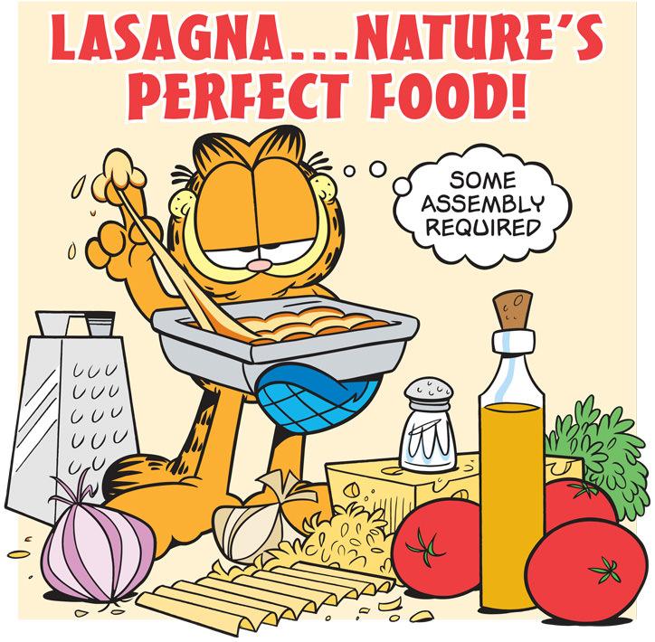 lasagna Garfield