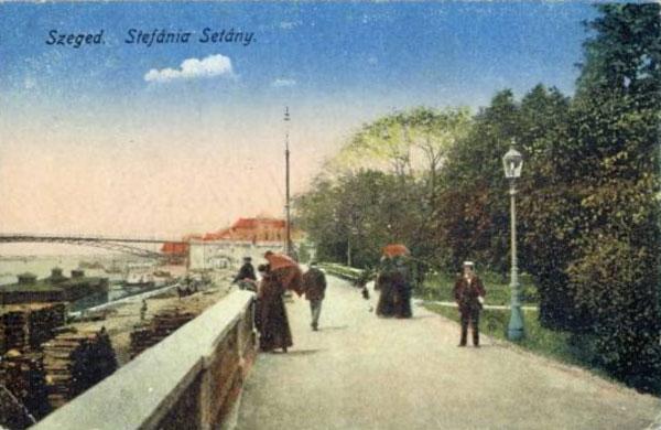 Szeged, Stefánia sétány