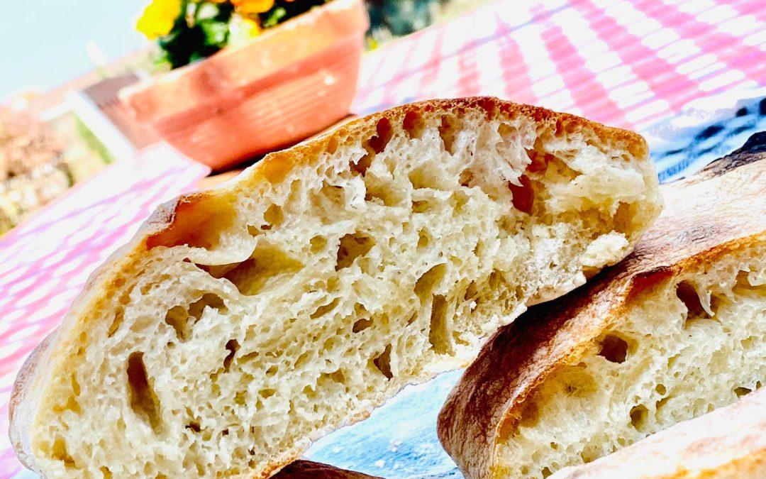 FINOM HÁZI CIABATTA – A leghíresebb olasz kenyér receptje!