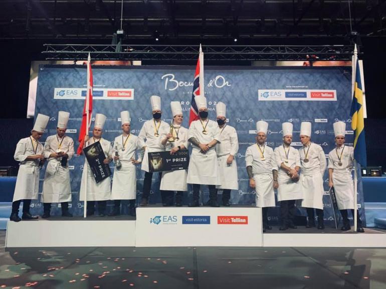 Az első három helyezett: Norvégia, Dánia, Svédország.