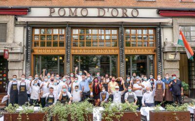 TRATTORIA POMO D'ORO – egy teljes hónapon át ünnepli a 18. születésnapját